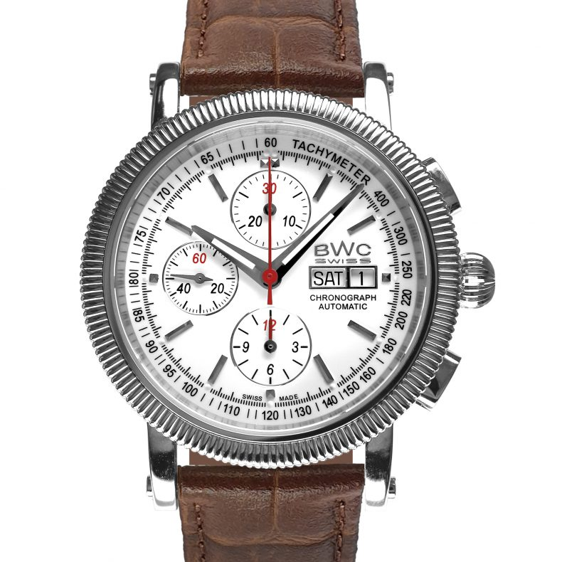 BWC-Swiss Automatik-Chronograph ETA-7750 - 20771.50.09