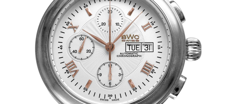 BWC-Swiss Automatik-Chronograph ETA 7750 - 20769.50.07