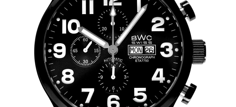 BWC-Swiss Automatik-Chronograph ETA 7750 - 20002.54.09