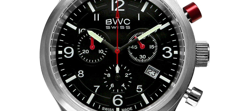 BWC-Swiss Quarz-Chronograph Ronda 5040.D 20017.50.39