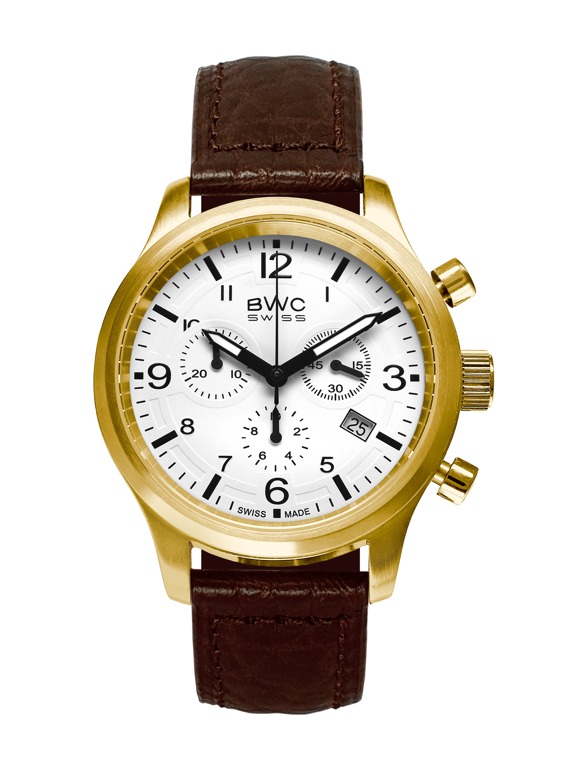 BWC-Swiss Quarz-Chronograph Ronda 5040.D 20017.51.51