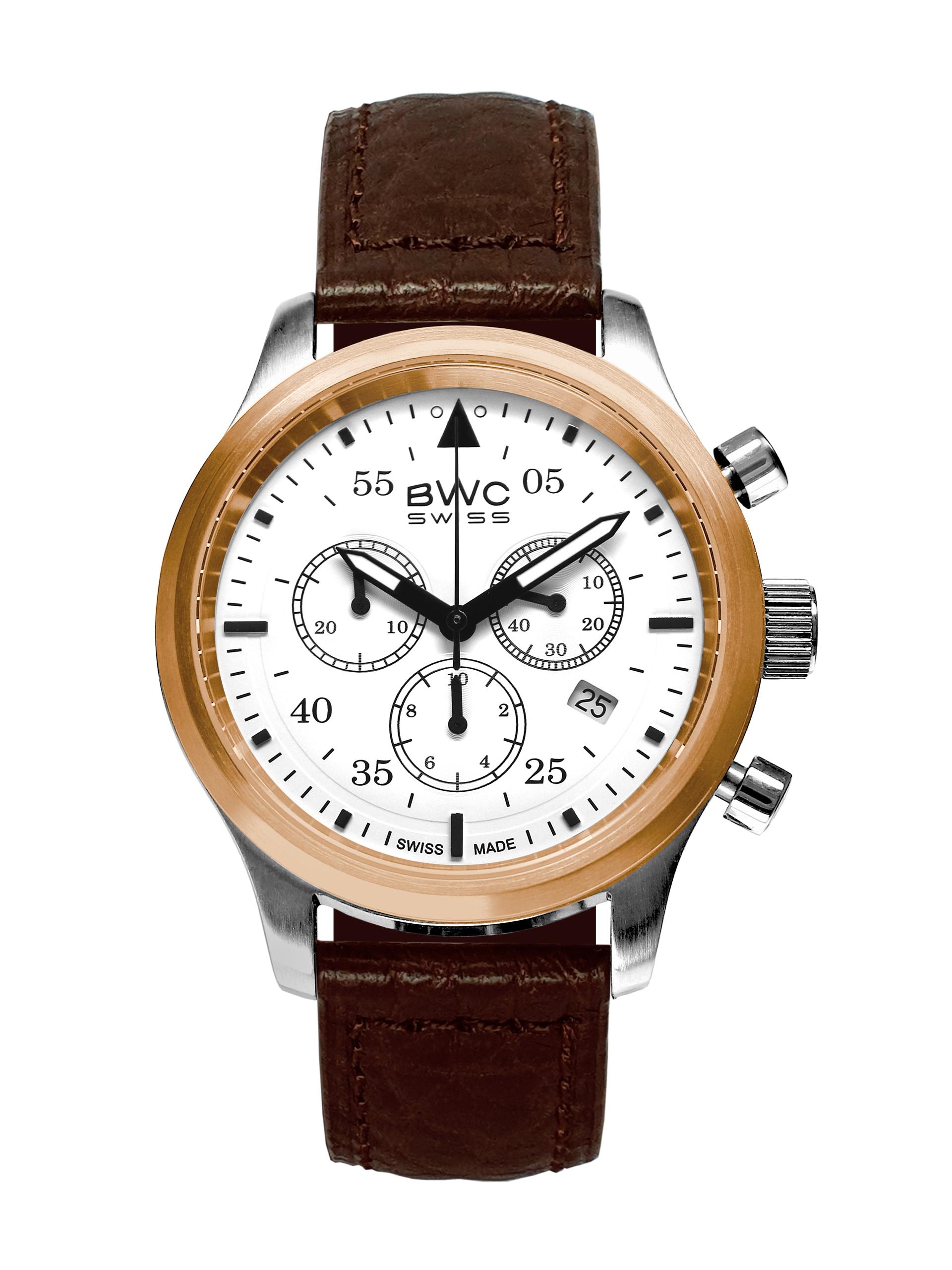 BWC-Swiss Quarz-Chronograph Ronda 5040.D 20017.52.50
