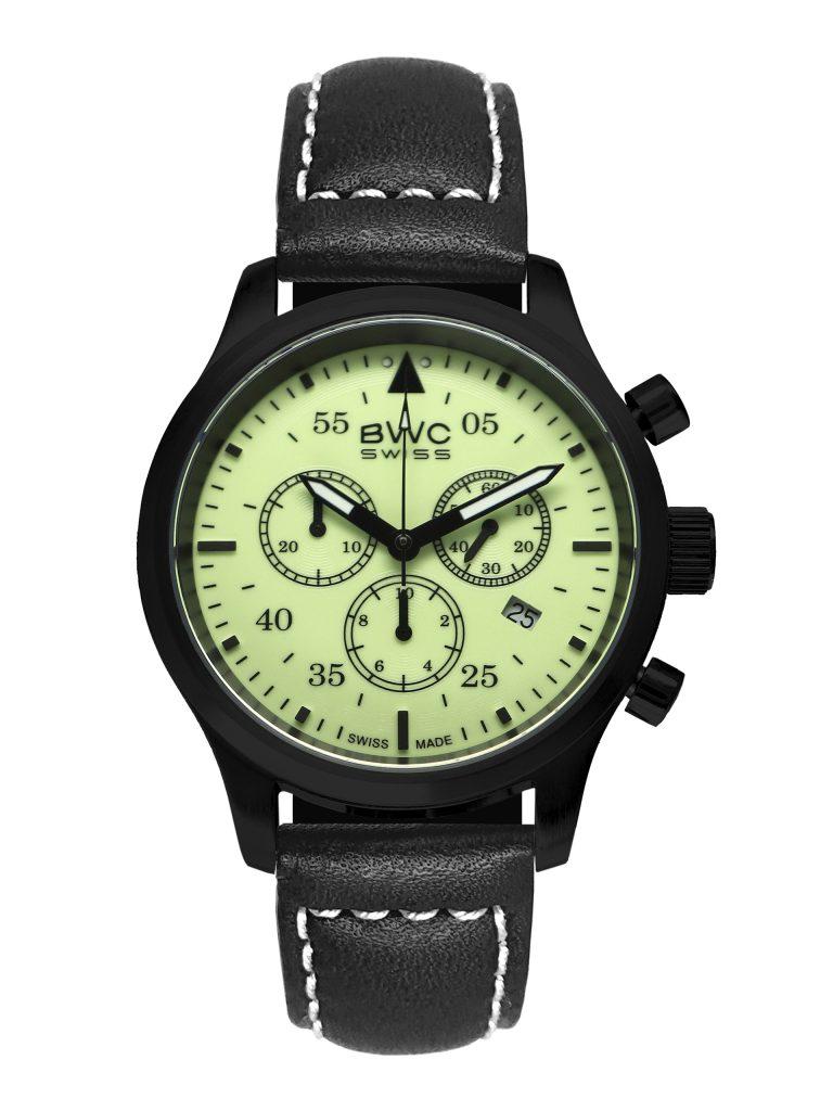BWC-Swiss Quarz-Chronograph Ronda 5040.D 20017.54.44