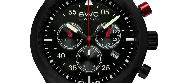 BWC-Swiss Quarz-Chronograph Ronda 5040.D 20017.54.48