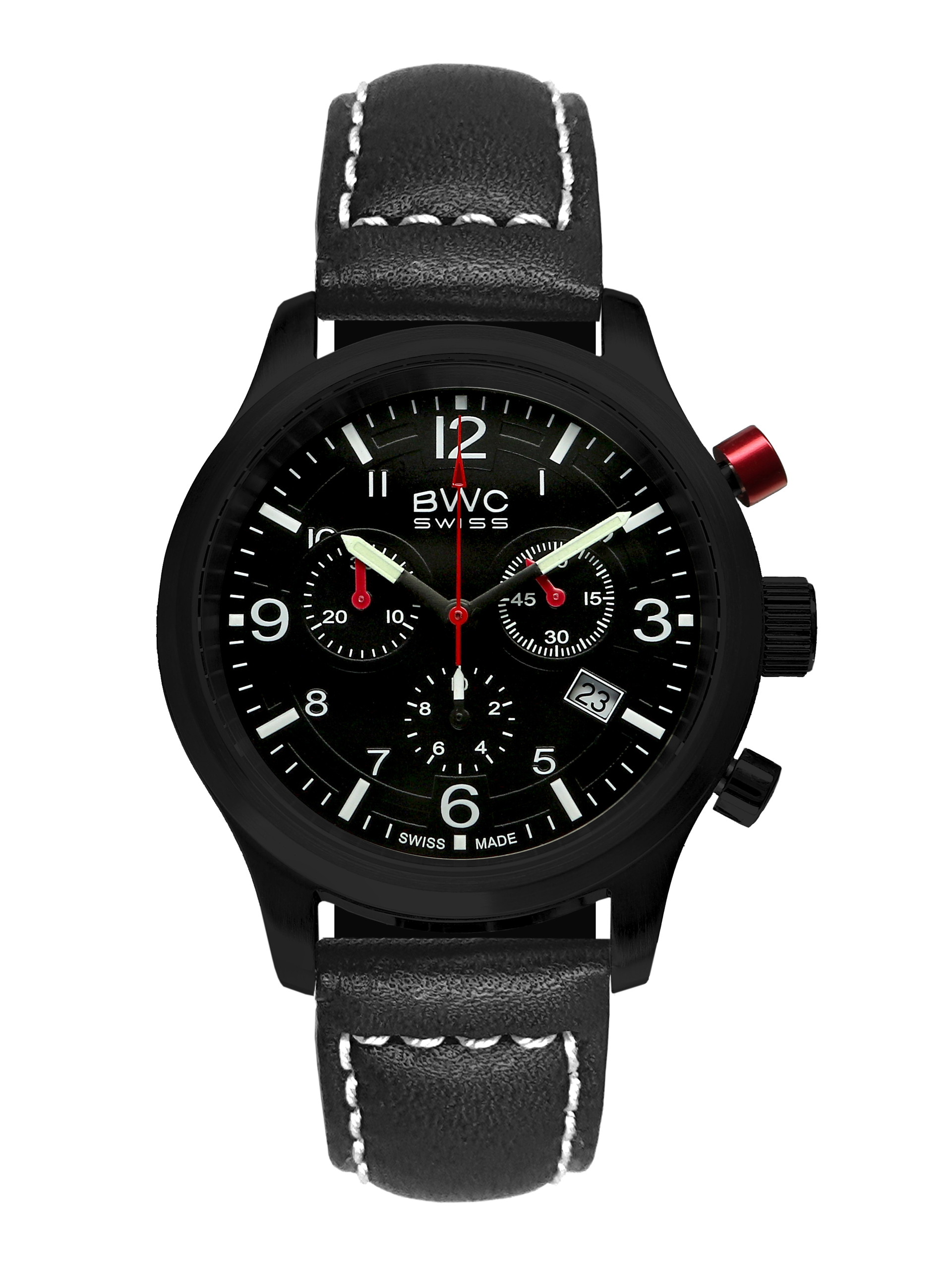 BWC-Swiss Quarz-Chronograph Ronda 5040.D 20017.54.49