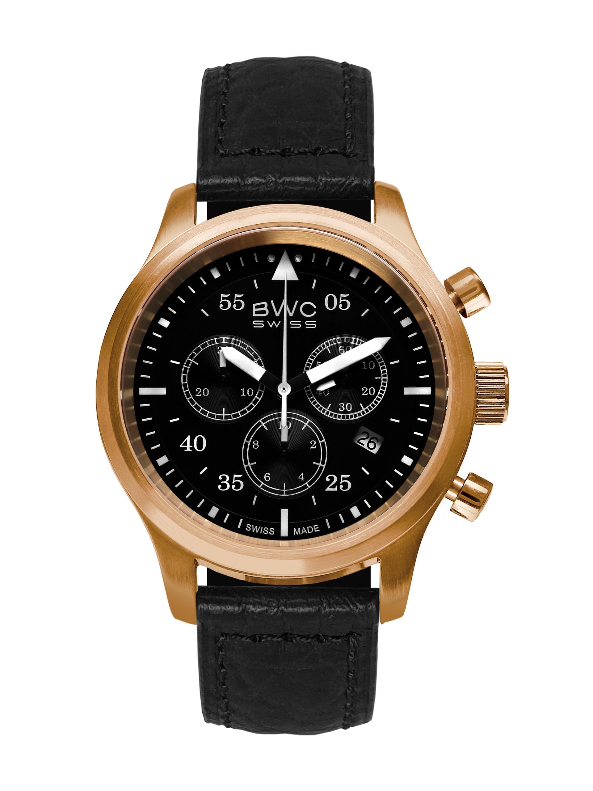 BWC-Swiss Quarz-Chronograph Ronda 5040.D 20017.57.52
