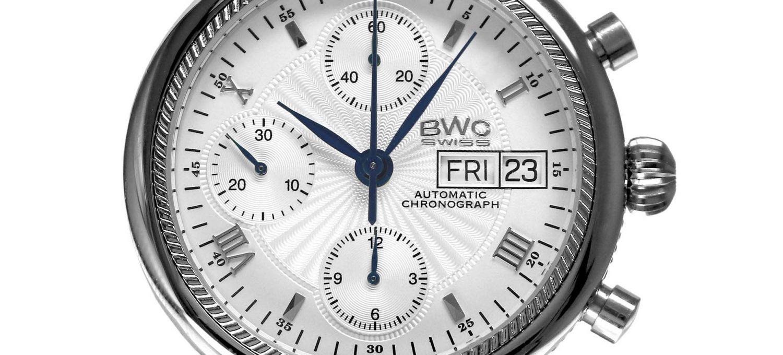 BWC-Swiss Automatik-Chronograph ETA 7750 - 20023.50.03