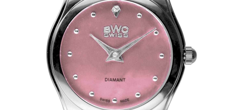 BWC-Swiss Damenuhr Ronda 1062 - 20039.50.04