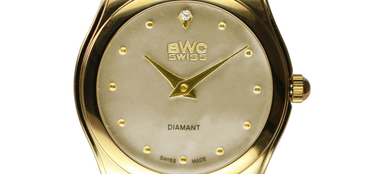 BWC-Swiss Damenuhr Ronda 1062 - 20039.51.15