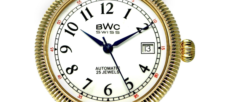 BWC-Swiss Automatikuhr ETA 2824.2 - 20768.51.34