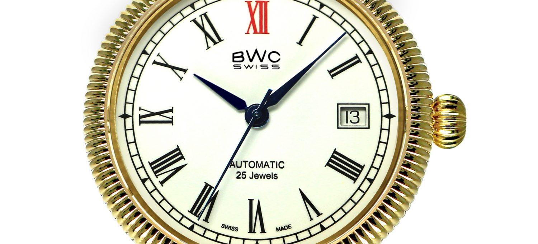 BWC-Swiss Automatikuhr ETA 2824.2 - 20768.51.35