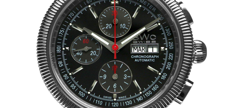 BWC-Swiss Automatik-Chronograph ETA-7750 - 20771.50.10