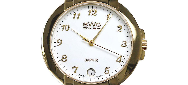 BWC-Swiss Herren-Quarzuhr Ronda 715 Swiss 20774.51.05