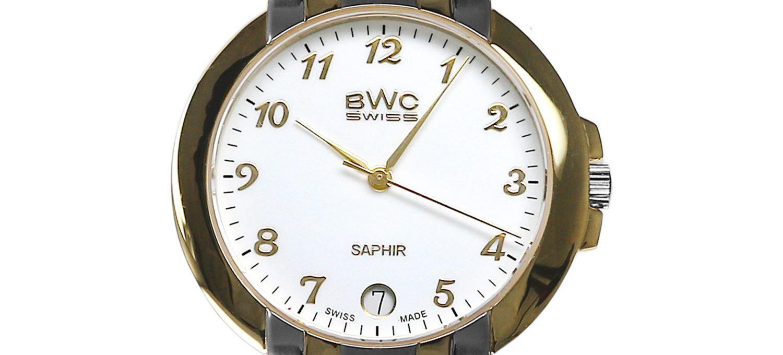 BWC-Swiss Herren-Quarzuhr Ronda 715 Swiss 20774.52.03