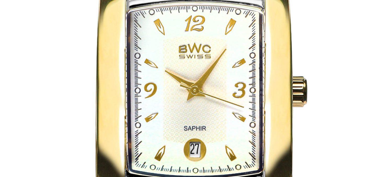 BWC-Swiss Herren-Quarzuhr Ronda 705 Swiss 20781.52.03