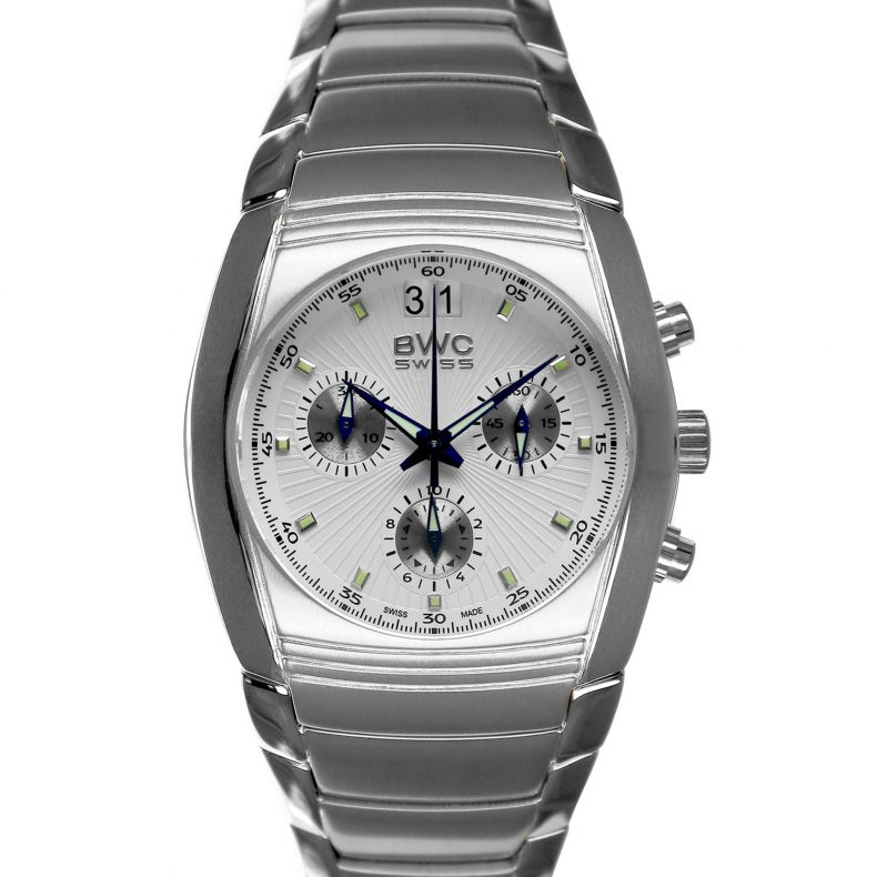 BWC-Swiss Quarz-Chronograph Ronda 5040.B 20787.50.01