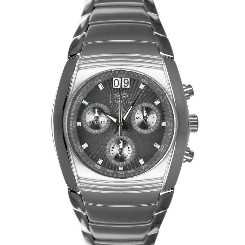 BWC-Swiss Quarz-Chronograph Ronda 5040.B 20787.50.03