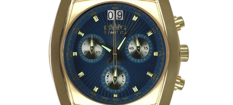 BWC-Swiss Quarz-Chronograph Ronda 5040.B 20787.51.07