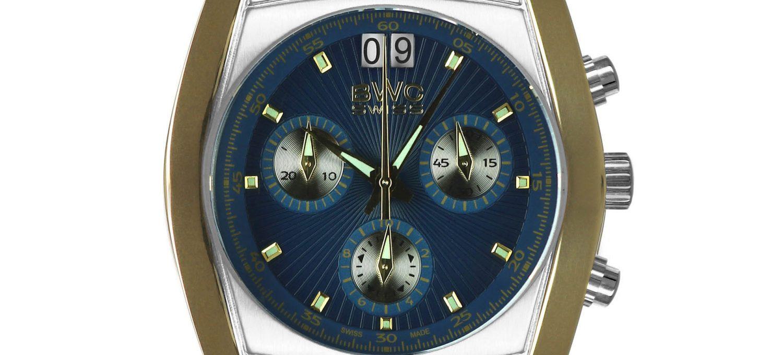 BWC-Swiss Quarz-Chronograph Ronda 5040.B 20787.52.05