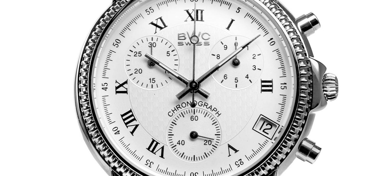 BWC-Swiss Quarz-Chronograph ETA G10.21A - 21095.50.10