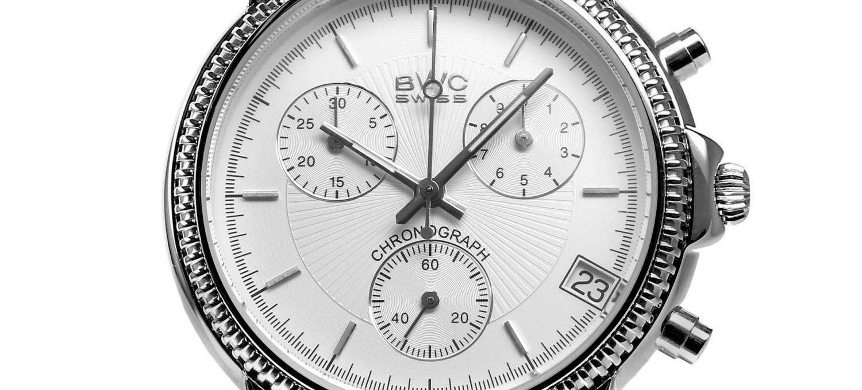 BWC-Swiss Quarz-Chronograph ETA G10.21A - 21095.50.11