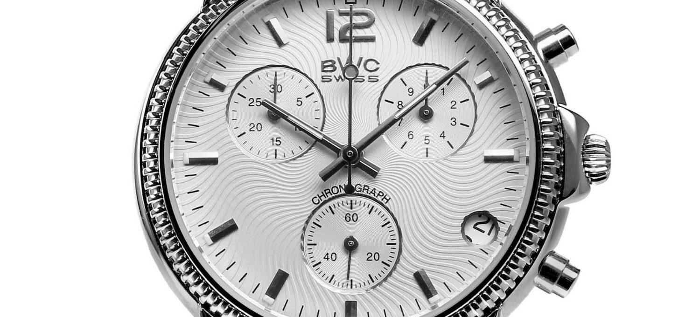 BWC-Swiss Quarz-Chronograph ETA G10.21A - 21095.50.12