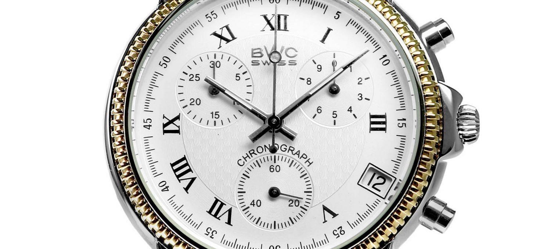 BWC-Swiss Quarz-Chronograph ETA G10.21A - 21095.52.02