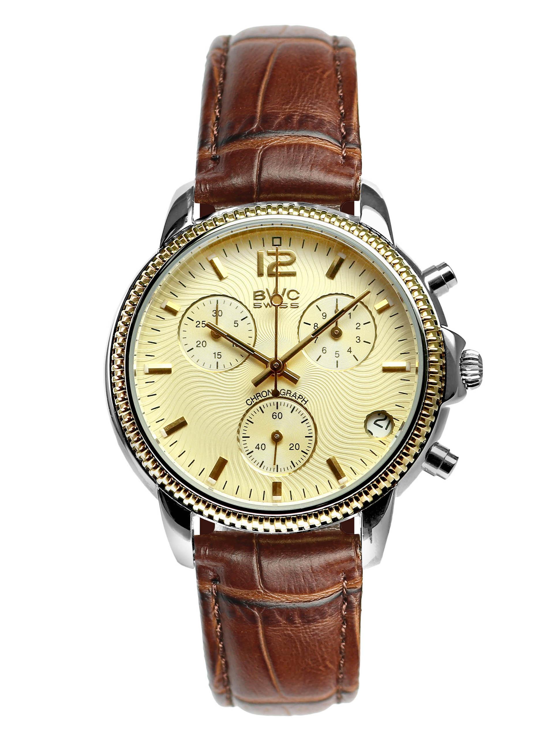 BWC-Swiss Quarz-Chronograph ETA G10.21A - 21095.52.08