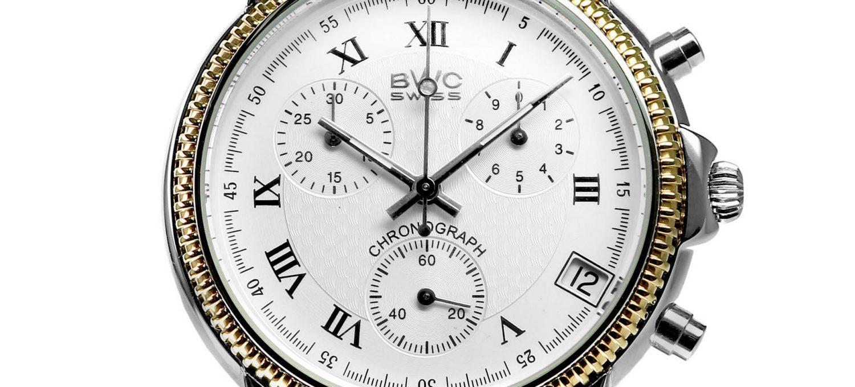 BWC-Swiss Quarz-Chronograph ETA G10.21A - 21095.52.13