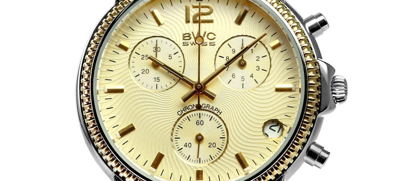 BWC-Swiss Quarz-Chronograph ETA G10.21A - 21095.52.14