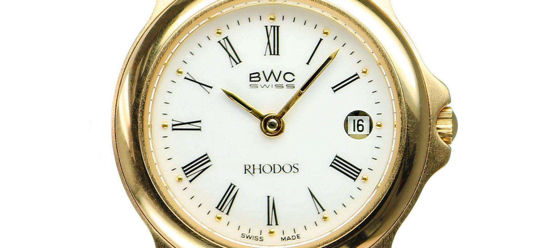 """BWC-Swiss Damenuhr """"Rhodos"""" ETA 956.111 - 295-3322-2-1"""